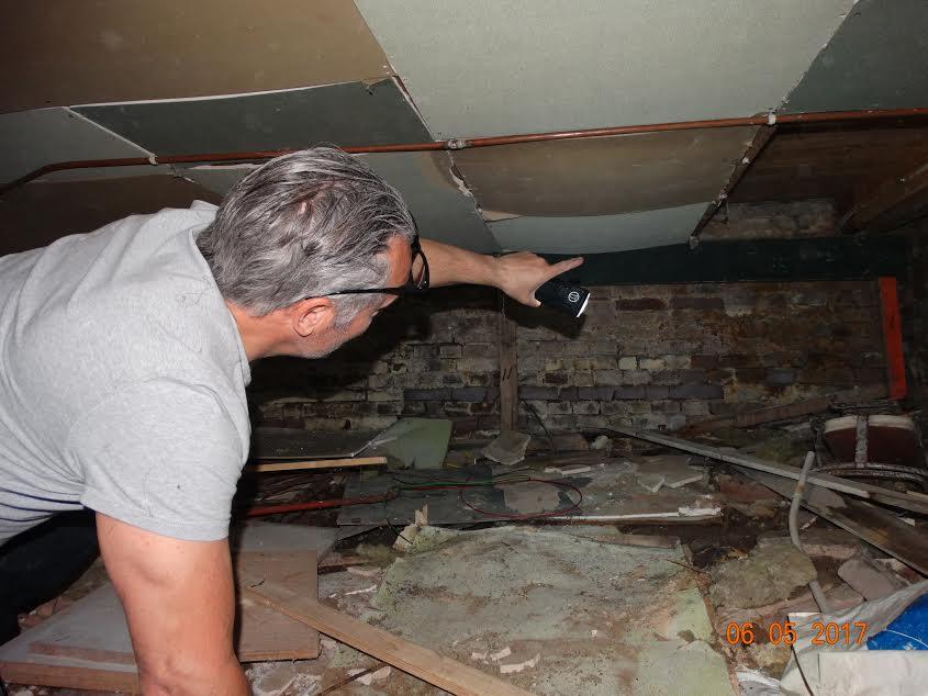 Kruipruimte inspectie (2)