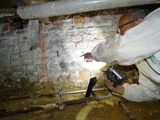 Kruipruimte inspectie